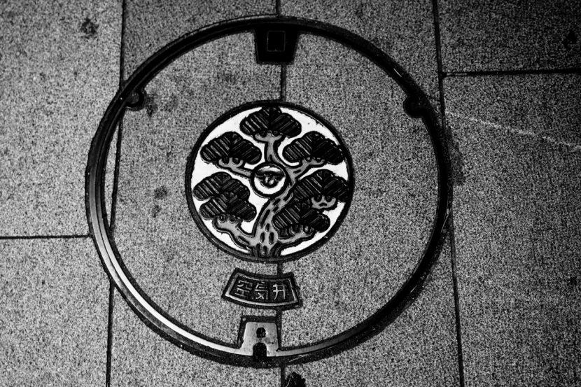 Gullydeckel in Tokyo S/W