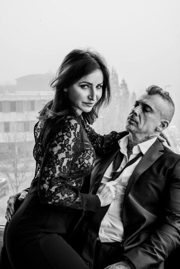 Hotelgeschichten Mann und Frau S/W