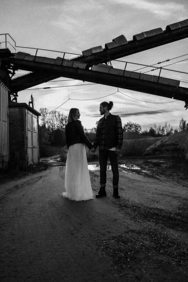 Lovestory, Brautpaar sw